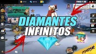 Bug Para Ganhar Diamantes Infinitos De Graca No Free Fire