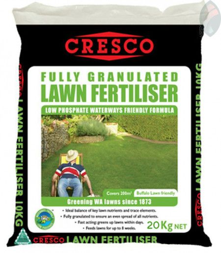 Cresco Lawn Fertiliser 20kg Lawn Fertilizer Lawn Lawn Care