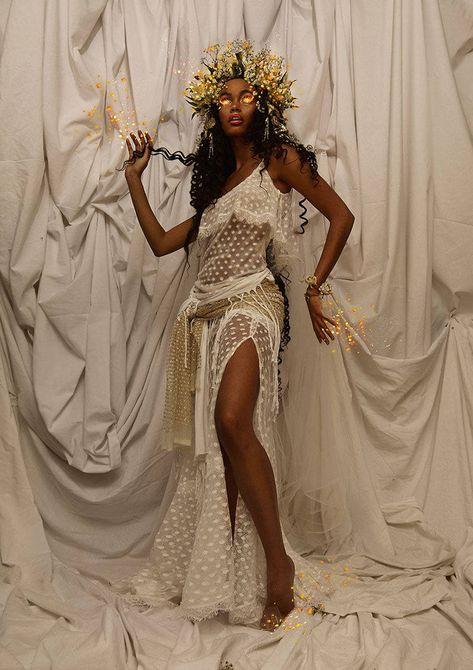 Black Girl Art, Black Women Art, Beautiful Black Women, Black Girl Magic, Art Girl, Beautiful People, Photoshoot Themes, Black Goddess, Black Girl Aesthetic