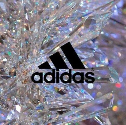 glitter adidas wallpaper