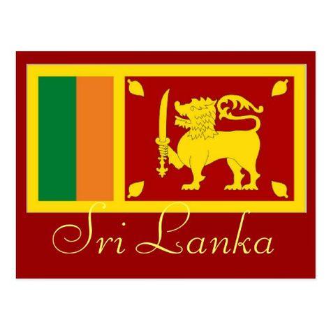 Sri Lanka Postcard Zazzle Com Personalized Custom Sri Lanka Postcard