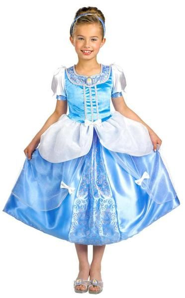 Child Disney Cinderella Deluxe Costume