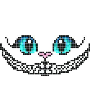 Stickaz Cat With Big Blue Eyes Happy Smile Minecraft Pixel Art Grid Maker Anime Ideas Easy Templates Hard Pok Minecraft Pixel Art Pixel Art Grid Pixel Art