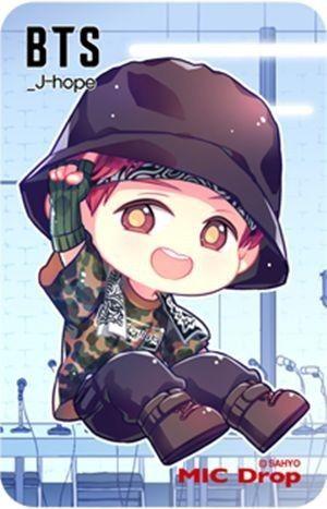Fanart Bts Mic Drop Chibi Bts Chibi Anime Chibi