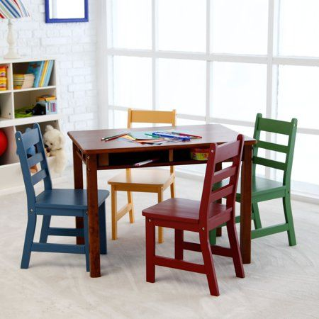 Home Wooden Childrens Table Wooden Table Chairs Kids Table