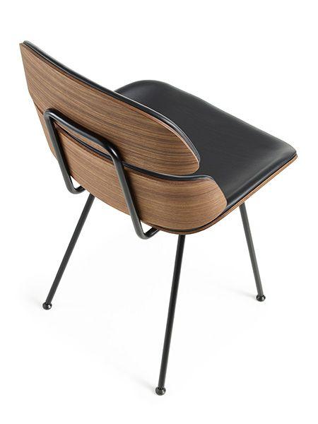 Chaise Midas En Bois Cintre Et Cuir Design Susanne Gronlund Mobilier Danois Naver Fauteuil Cuir Design Mobilier Danois Fauteuil Design