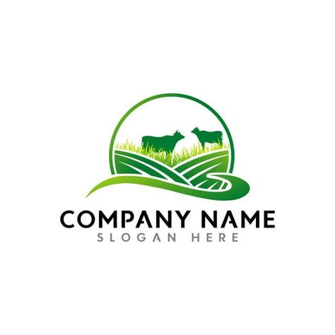 Creative Modern Agricultural Firm Vector Logo Design Vector Logo For Business And Company Ide Projekte