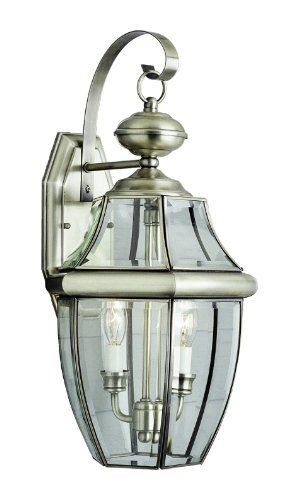 Trans Globe Lighting 4320 Bn Outdoor Courtyard 20 5 Wall Lantern Brushed Nickel For Sale Wall Mount Lantern Outdoor Wall Lantern Sea Gull Lighting