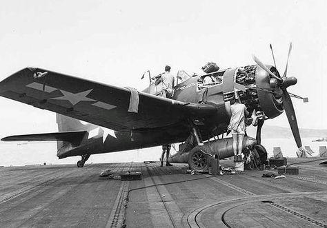 """Grumman F6F Hellcat """"Minsi II"""" on board USS Essex ~ BFD"""