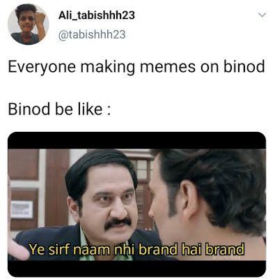 Viral Binod Memes Images Memes In Hindi Binod Memes Kya Hai Statuspictures Com Really Funny Memes Fun Quotes Funny Stupid Funny Memes