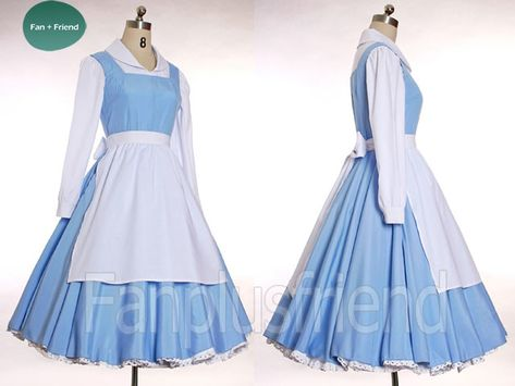 Disney Beauty and the Beast Disney Cosplay,Belle Outfit