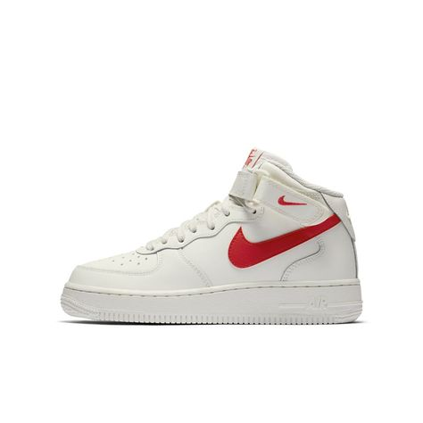 info for 89c35 6be9d Nike Air Force 1 Mid 06 Big Kids  Shoe Size 4.5Y (Cream)