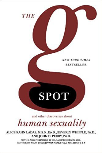 The G Spot And Other Discoveries About Human Sexuality Urology