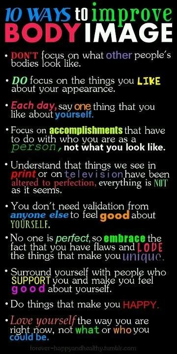 Body Image Affirmations Quotes For Self Love