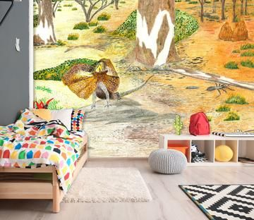 1 Aj Designer Michael Sewell Aj Wallpaper In 2020 Mural Wallpaper Adhesive Wall Art Mural