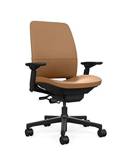 Steelcase Amia Ergonomic Office Chair With Adjustable Back Tension And Arms Flexible Lumbar With Sliding With Images Ergonomic Office Chair Office Chair Ergonomic Office