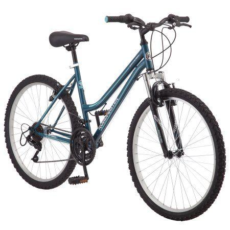Roadmaster Granite Peak Women S Mountain Bike 26 Inch Wheels Teal Walmart Com Mens Mountain Bike Mountain Bike Girls Man Bike