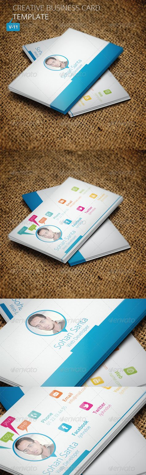 Creative Business Card V 11 Business Cards Creative Corporate Business Card Business Cards Creative Templates