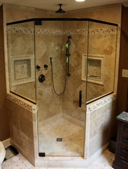 Bathroom Shower Ideas Corner Walk In 36 Ideas For 2019 Shower Stall Master Bathroom Shower Shower Remodel