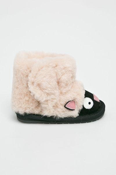 Modna Poleca Sniegowce Emu Dla Dzieci Slide Slipper Shoes Slippers