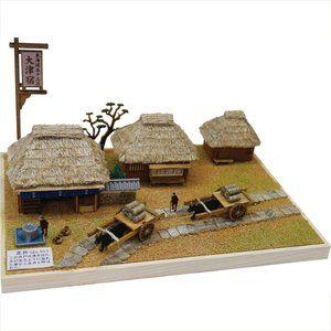 ウッディジョー 東海道五十三次シリーズ 大津宿 木製建築模型組立