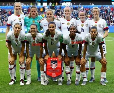 Usa Womens Soccer National Team 8x10 Photo 2019 Fifa World Cup Ebay Usa Soccer Women Womens Soccer Soccer