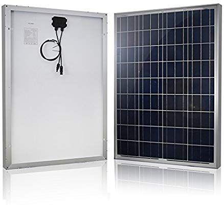 Amazon Com Hqst 100 Watt 12 Volt Polycrystalline Solar Panel Garden Outdoor Best Solar Panels Solar Panels Rv Solar Panels