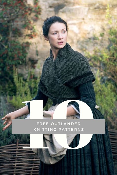 Free outlander Knitting Patterns Free outlander Knitting Patterns,stricken schal u. tücher Outlander patterns inspired by the TV show, including Claire's cable knit wrist warmers, Brianna's capelet, Claire's arm warmers and more! Outlander Knitting Patterns, Knitting Patterns Free, Knit Patterns, Free Knitting, Loom Knitting, Knitting Machine, Vintage Knitting, Stitch Patterns, Capelet Knitting Pattern