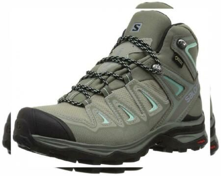 New Salomon X Ultra 3 Mid Gtx Women S Women Boots Offers On Top Store In 2020 Boots Hiking Boots Shoe Boots