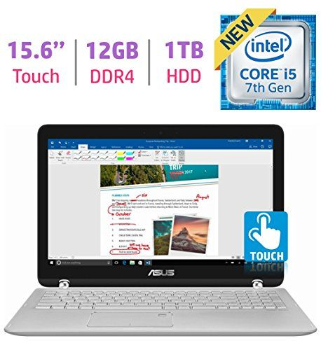 Asus 15 6 2 In 1 Touchscreen Fhd 1080p Laptop Pc 7th Intel Core I5 7200 Laptop Computers Laptop Brands Laptop
