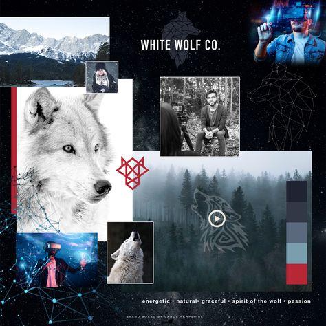 White Wolf Brand Vision Board