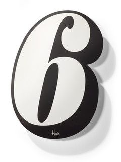 House Racing Number Stickers