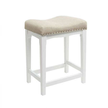 Better Homes Gardens Cove 24 Inch Counter Stool Taupe Beige