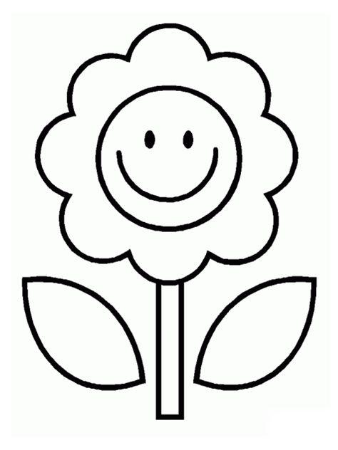 Disegni Da Ritagliare Per Bambini Fx63 Fiori Disegnati Da