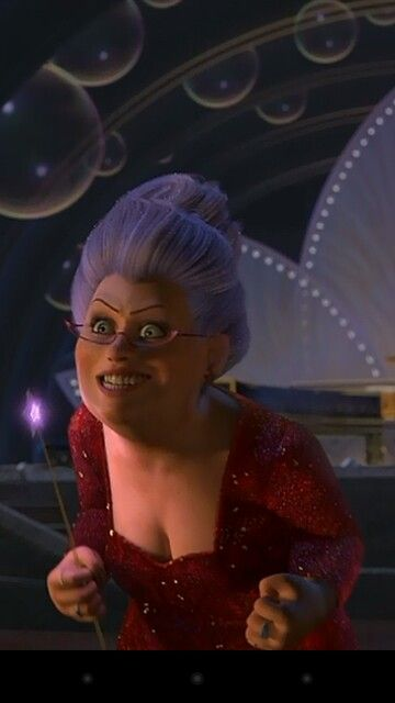 Jennifer Saunders As The Voice Of The Fairy Godmother In Shrek 2 2004 Shrek Fiona Shrek Fairy Godmother