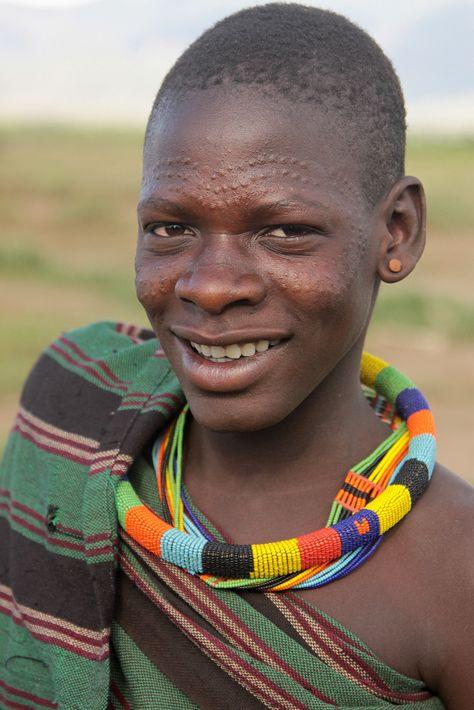 uganda - tribes and culture | Young Tepeth woman. Karamoja