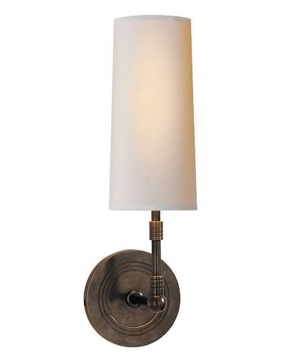 Griffin Sconce Oiled Bronze Williamssonoma Sconces Wall Lights Visual Comfort Lighting