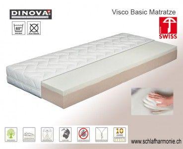Matratze Visco Basic Klimaregulierende Bettwaren Verschonern Sie Ihr Schlafzimmer Mit Kuscheligen Heimtextilien Gunstige Matratze Besser Schlafen Bettdecke