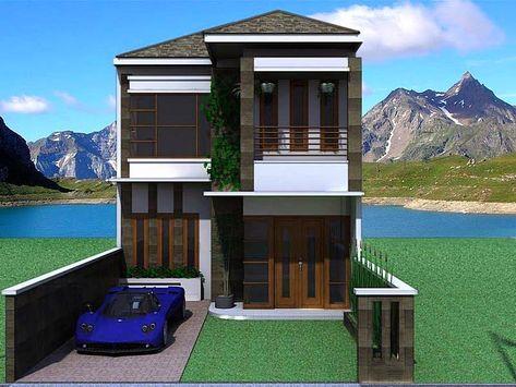 rumah minimalis 2 lantai type 36 | rumah minimalis, rumah