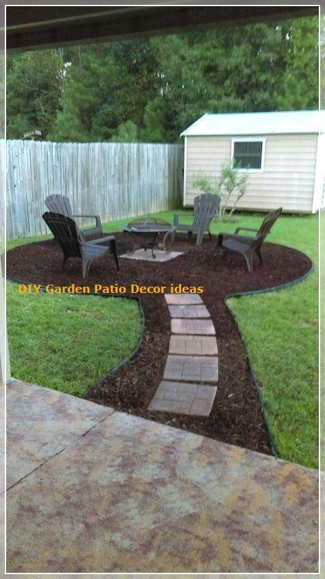 Cheap Backyard Ideas Decorate Your Garden In Budget In 2020 Backyard Backyard Landscaping Front Yard Landscaping Design