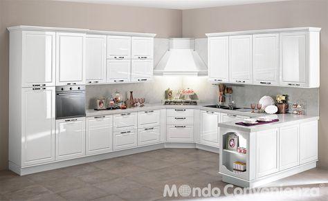 Mondo Convenienza Panche Cucina.Cucina Chantal Cucina Composizione Tipo Moderno Mondo