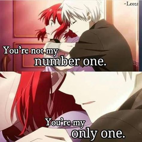 Anime: Akagami no shirayukihime #animequotes