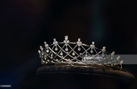 A diamond tiara is displayed in the Tasaki & Co. jewelry store in the Ginza district of Tokyo, Japan, on Friday, may Chow Tai Fook Jewellery Group Ltd