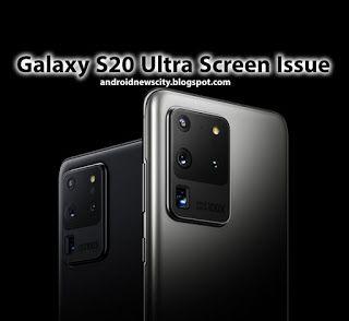 Green Screen Issue Latest Upgrade To The Galaxy S20 Ultra Brings An Odd Error Galaxy Samsung Galaxy Phone Greenscreen