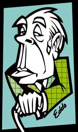 Resultado De Imagen Para Jorge Luis Borges Caricatura Borges Jorge Luis Borges Caricaturas