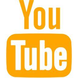 Free Orange Youtube Icon Download Orange Youtube Icon Youtube Logo Youtube Orange Aesthetic