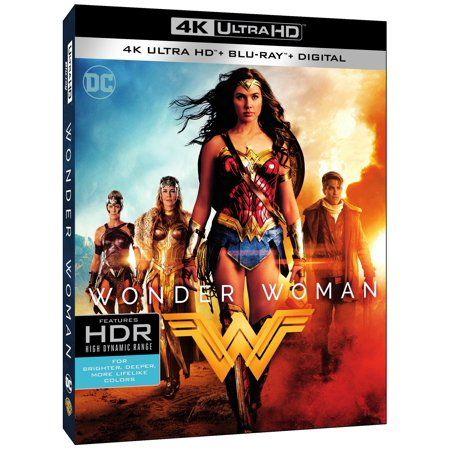 Wonder Woman 4k Ultra Hd Blu Ray Digital Copy Walmart Com In 2020 Wonder Woman Wonder Woman Movie Wonder