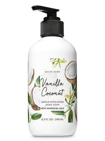 Vanilla Coconut Gentle Exfoliating Hand Soap In 2019 Soap Bath