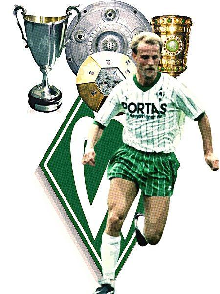 Trainer Spieler Legende Werder Bremen Bundesliga Fussball