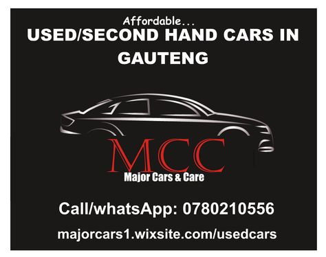 At Major Cars Care Springs Gauteng We Buy And Sell Used Cars At Low Prices Car Care Gauteng Used Cars